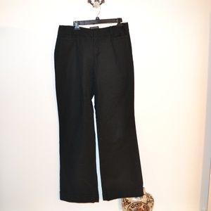 Banana Republic black long slacks size 12l